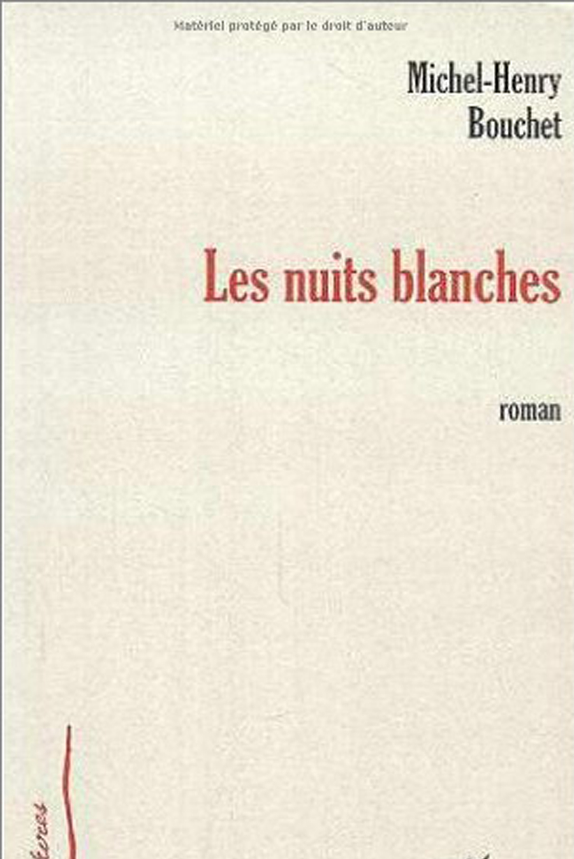 LES NUITS BLANCHES (L'HARMATTAN-French)